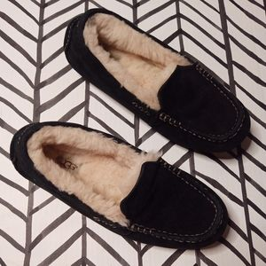 Ugg Moccasin Slippers Leather & Shearling